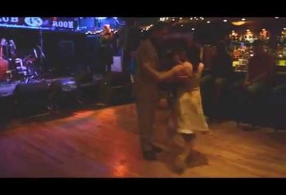 Tango dancing to Anton's Stars Fall Down