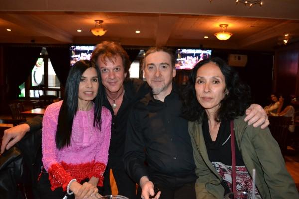 Claudia, Anton, Maurizio, and Alejandra