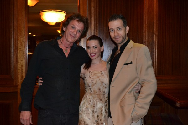 Anton, Zoya, and Michael - Tango Dancers
