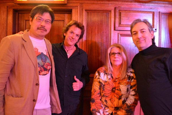 Masa, Anton, Annie Haslam, and Rave Tesar