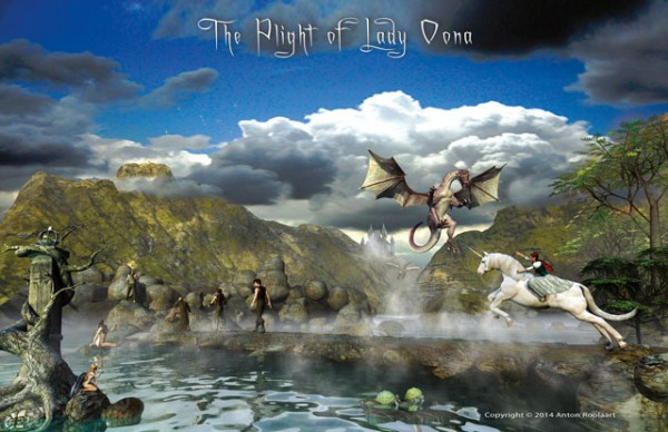 The Plight of Lady Oona Poster